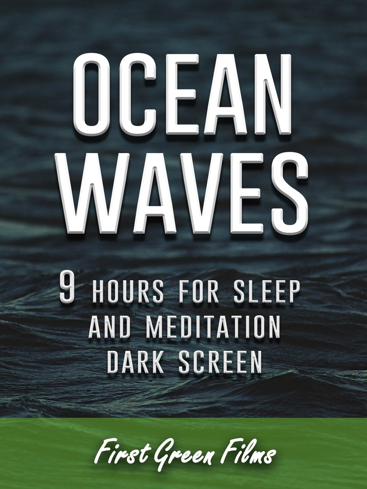 Ocean waves, 9 hours for Sleep and Meditation, dark screen