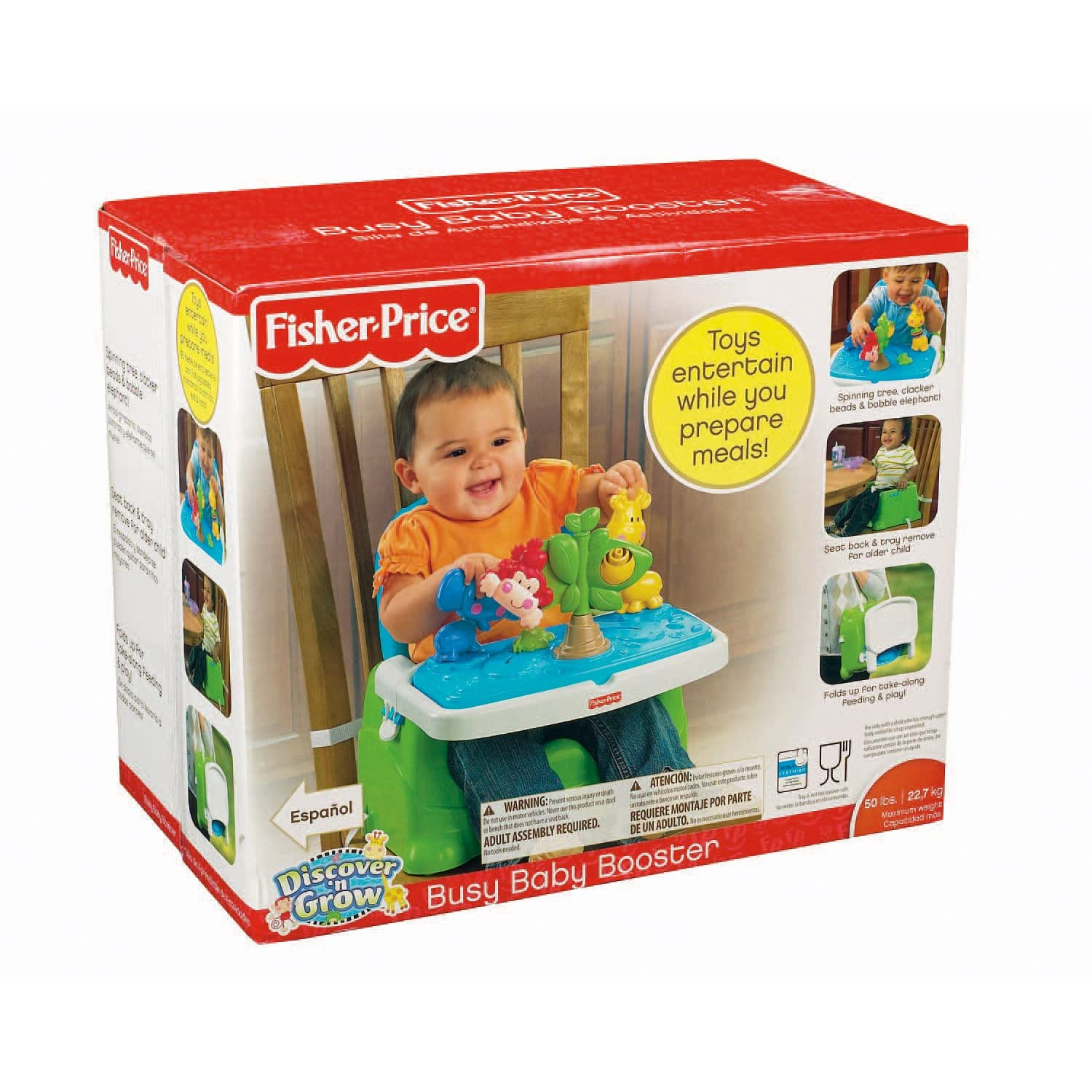 Fisher price discover and n grow jungle busy booster seat for Silla 4 en 1 fisher price