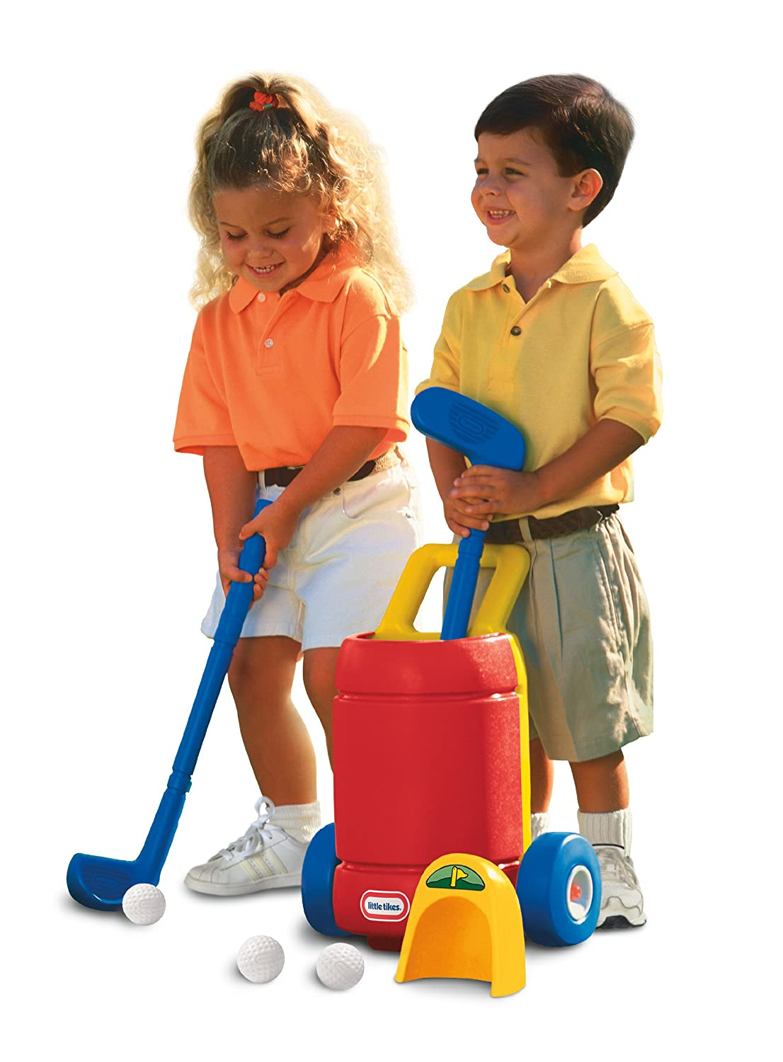 An Image of Little Tikes Totsports Easy Hit Golf Set