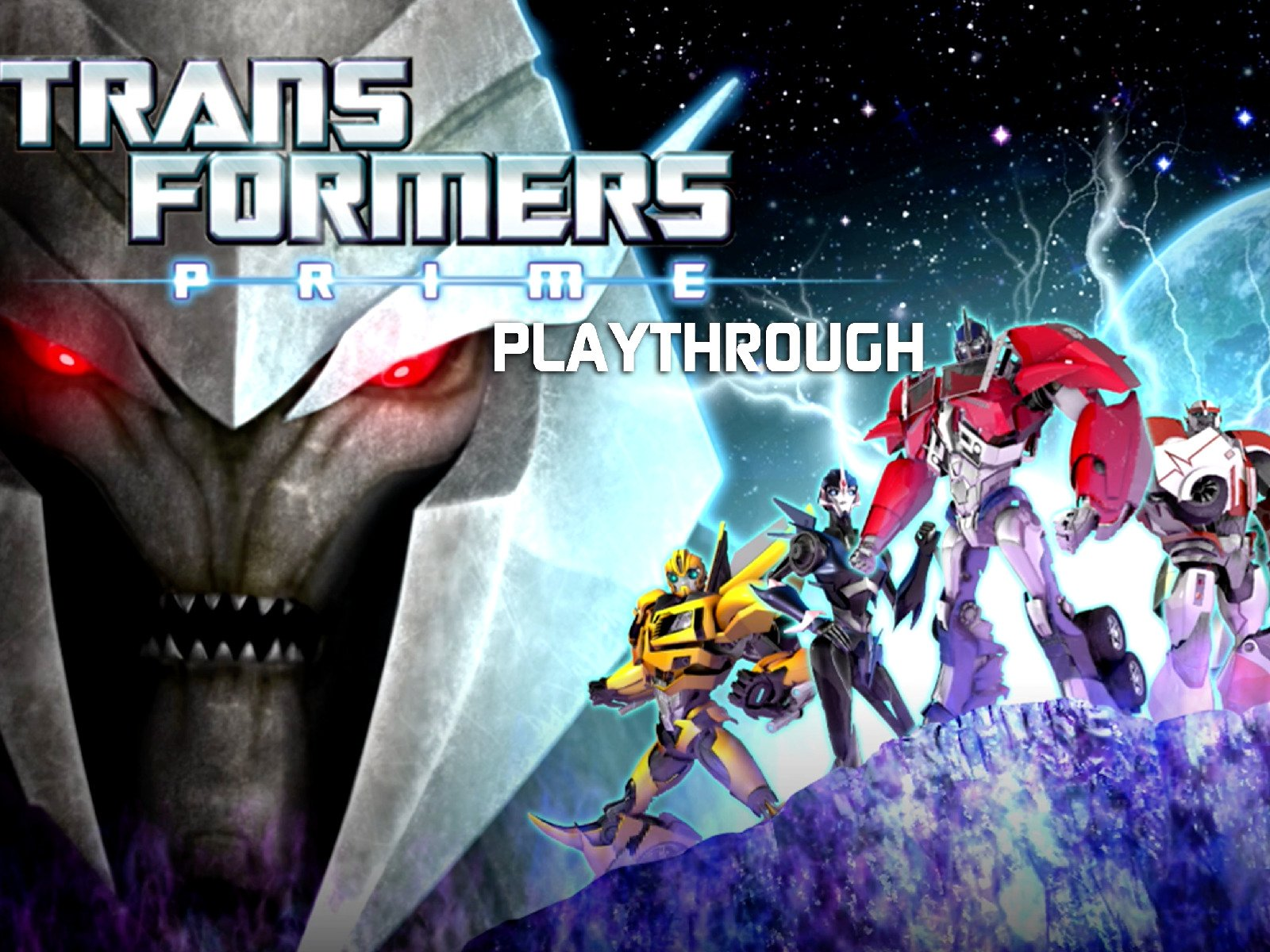 Clip: Transformers Prime Playthrough
