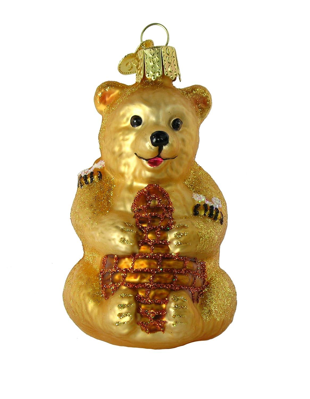 Beehive ornament - Honey Bear Cub Ornament