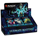 Magic: The Gathering Ultimate Masters Booster Box | 24 Booster Pack (360 Cards) (Color: None)