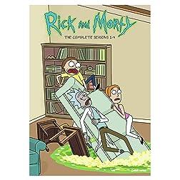 Rick and Morty: Seasons 1-4 (DVD)