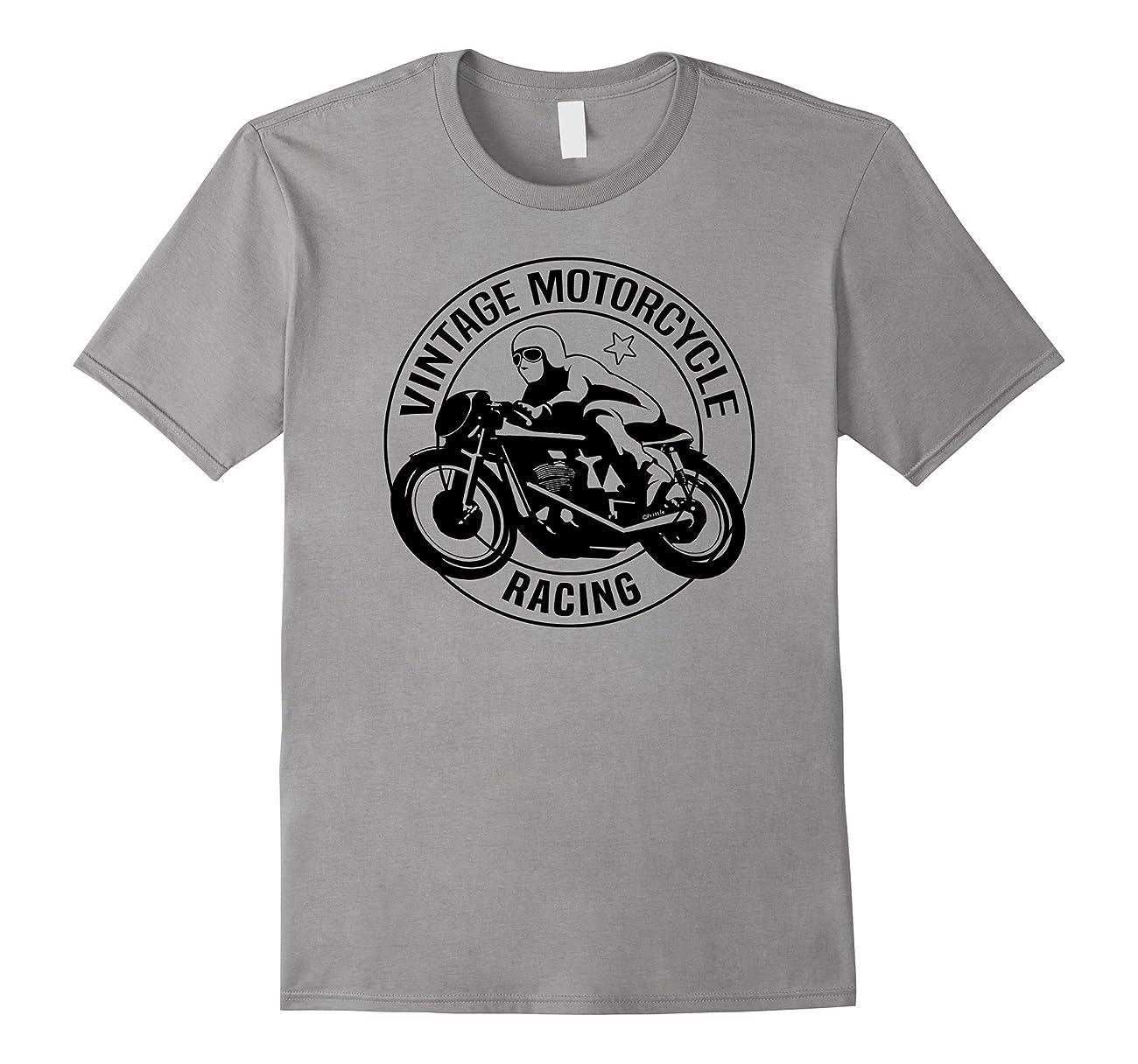 Vintage Classic Motorcycle Racing Tshirt 0
