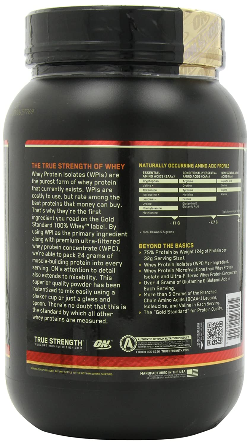 ON Whey Gold Standard - 2 lb Mocha Cappuccino