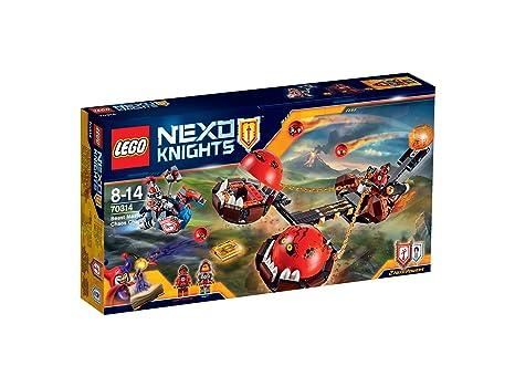 LEGO - 70314 - Nexo knights - Jeu de Construction - Le chariot du Chaos du Maitre des bêtes