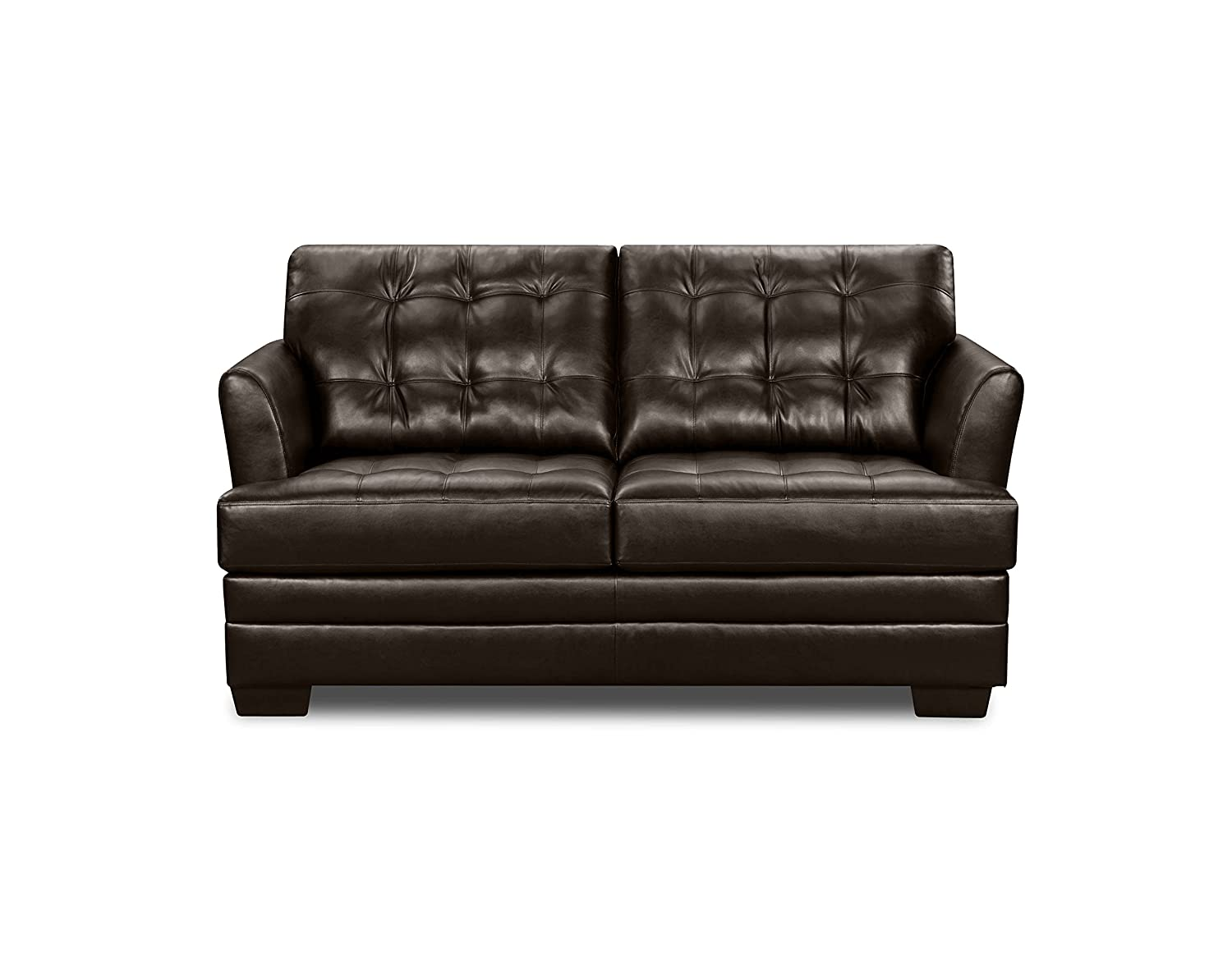 Simmons Upholstery 2055-04F-Full Manhattan Espresso Full Hide-A-Bed