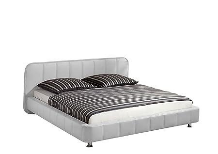 Maintal Betten 232735-4691 Polsterbett Zoe 140 x 200 cm, weiß