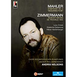 "Mahler: Symphony No. 2, """"Resurrection""""; Zimmerman: Nobody Knows De Trouble I See"
