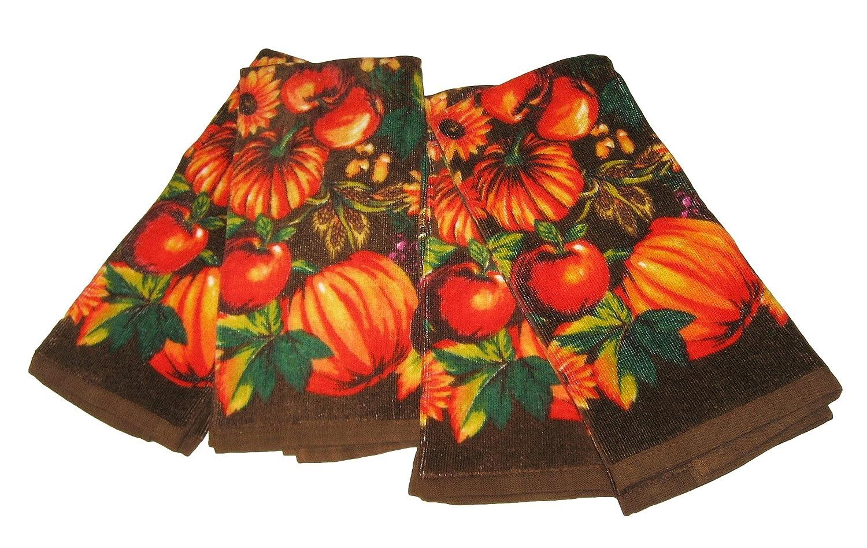 Thanksgiving Pumpkins Kitchen Towels Thanksgiving Wikii