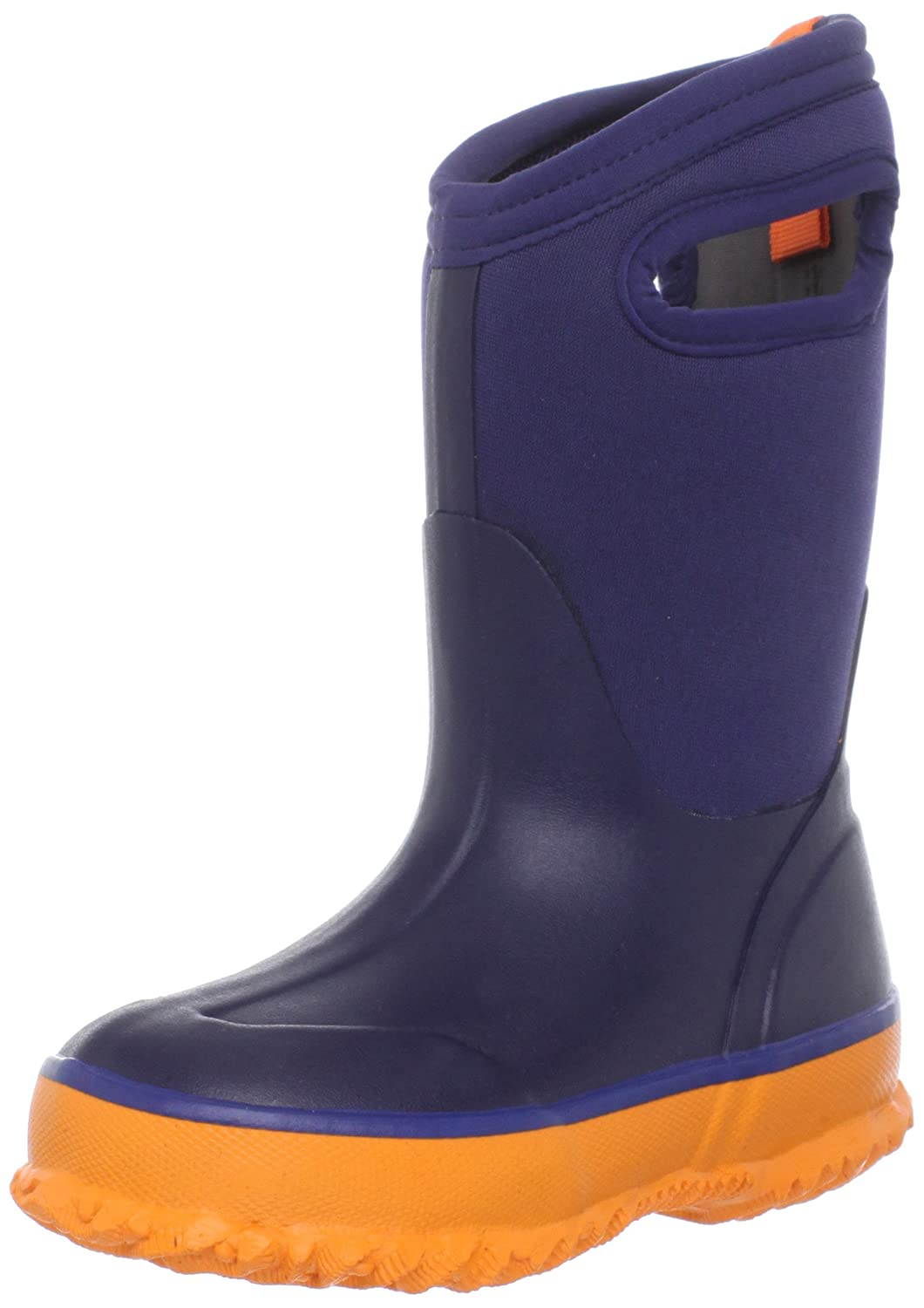 Bogs Kids Classic in blau orange Kinder Winterstiefel Regenstiefel kaufen