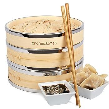 bambus dampfgarer reis
