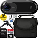 Insta360 ONE 360 Camera, Sports and Action Video Camera, VR Camera, 24MP (7K) Photos, 4K Videos for iPhone All Series Essential Bundle
