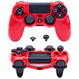 MXRC ULTRA ARMOR GEAR FPS Case Cover Shell for PS4 Controller Red