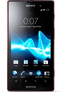 Sony Xperia ion Smartphone 4,6 Zoll rot  Kundenbewertungen