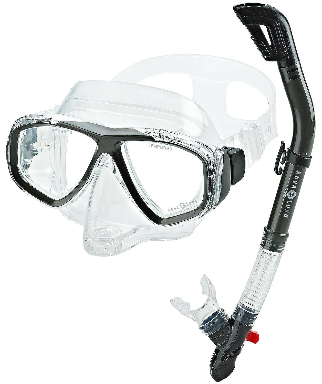 Aqua lung snorkel set think