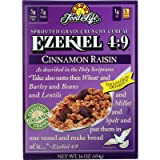 Food for Life, Ezekiel 4:9 Organic Sprouted Grain Cereal, Cinnamon Raisin, 16 oz
