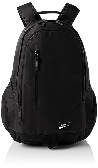 nike backpack all black