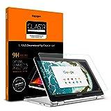 Spigen Tempered Glass Screen Protector Designed for ASUS Chromebook Flip C302CA (12.5 inch) (Color: Glas.tR Slim)