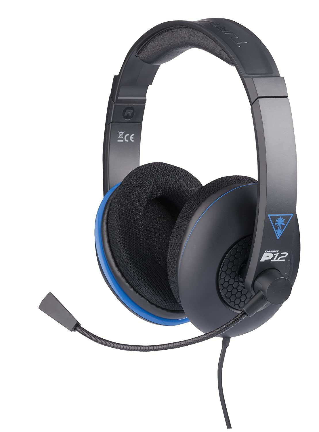 Turtle Beach - Ear Force P12 - Amplified Stereo Gaming Headset - PS4, PS Vita, and Mobile Devices - FFP