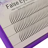 Scala 8/9/10/11/12/13/14/15mm Handmade Grafted Individual False Eyelashes Natural Long Eye Lashes Cluster Extension Makeup Beauty Health Fake Eyelashes(13mm) (Tamaño: 13mm)
