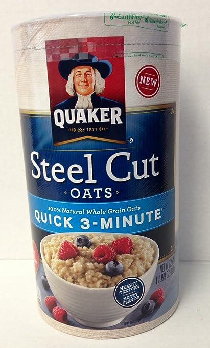 Amazon com Quaker Oats  Steel  Quaker Steel Cut Oats