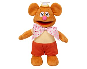MUPPET Exclusive! Set of 4: Plush Disney Junior Babies: Fozzie, Piggy, Kermit and Penguin APPR. 8 inch (Tamaño: 8 inches)