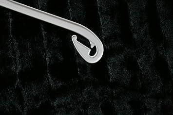 50 wei e kleiderb gel kunststoff wei na 47cm kleiderb gel neu de13. Black Bedroom Furniture Sets. Home Design Ideas