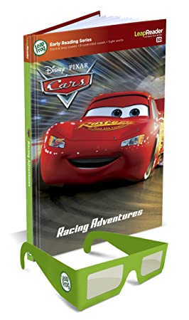 AmazonSmile: LeapFrog LeapReader Book: Disney·Pixar Cars: Racing Adventures (works with Tag): Toys & Games