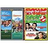 Stripes Bill Murray + Caddyshack 1 & 2 Comedy Feature Groundhog Day / Ghostbusters triple films