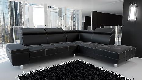 Sofa Couchgarnitur Couch Sofagarnitur REENO Polstergarnitur Polsterecke Wohnlandschaft