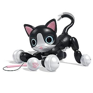 Zoomer Kitty Interactive Cat - Black