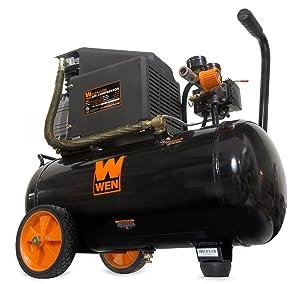 WEN 2287 6-Gallon Oil-Lubricated Portable Horizontal Air Compressor (Tamaño: 6-Gallon Horizontal)