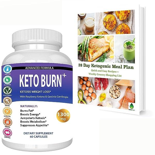 Keto Burn Ketosis Best Weight Loss Pills 1300 Mg Ultra Advanced