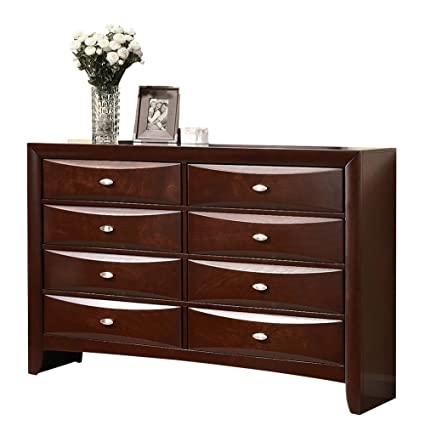 ACME 21455 Ireland Dresser, Espresso Finish