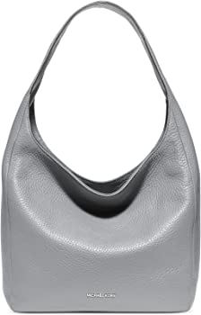 Michael Kors Large Lena Leather Hobo Bag