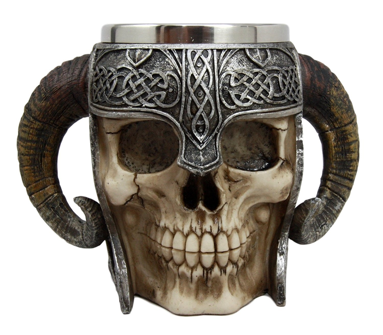 Viking Skull Stein