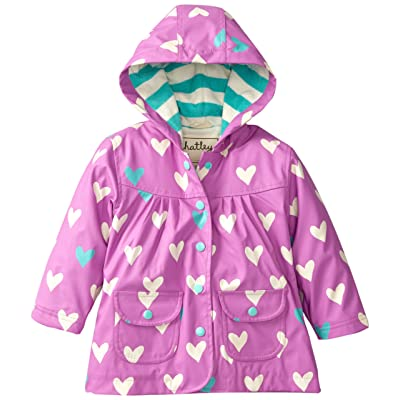 Hatley Polka Dot Hearts Raincoat