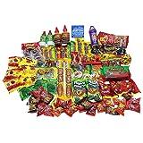 Mexican Candy Care Package. Spicy Bulk Candies/Variedad de Dulces Mexicanos. Includes Vero Mango, Rebanaditas, Pulparindo and Many More.