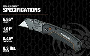 Southwire Tools & Equipment UTILQO Folding Utility Knife