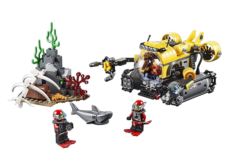 LEGO City Deep Sea Explorers Submarine 60092 Review
