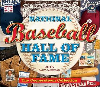 The National Baseball Hall of Fame(TM)2015 Boxed Calendar