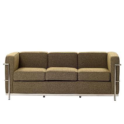 Charles Wool Petite Sofa in Oatmeal