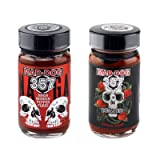 Mad Dog 357 Carolina Reaper/Naga Morich Ghost Pepper Puree Two Jar Hot Pack