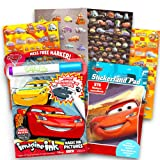 Disney Cars No Mess Coloring Set for Toddlers Kids -- Mess Free Coloring Book with Magic Pen and Over 290 Disney Cars Stickers (No Mess Art).