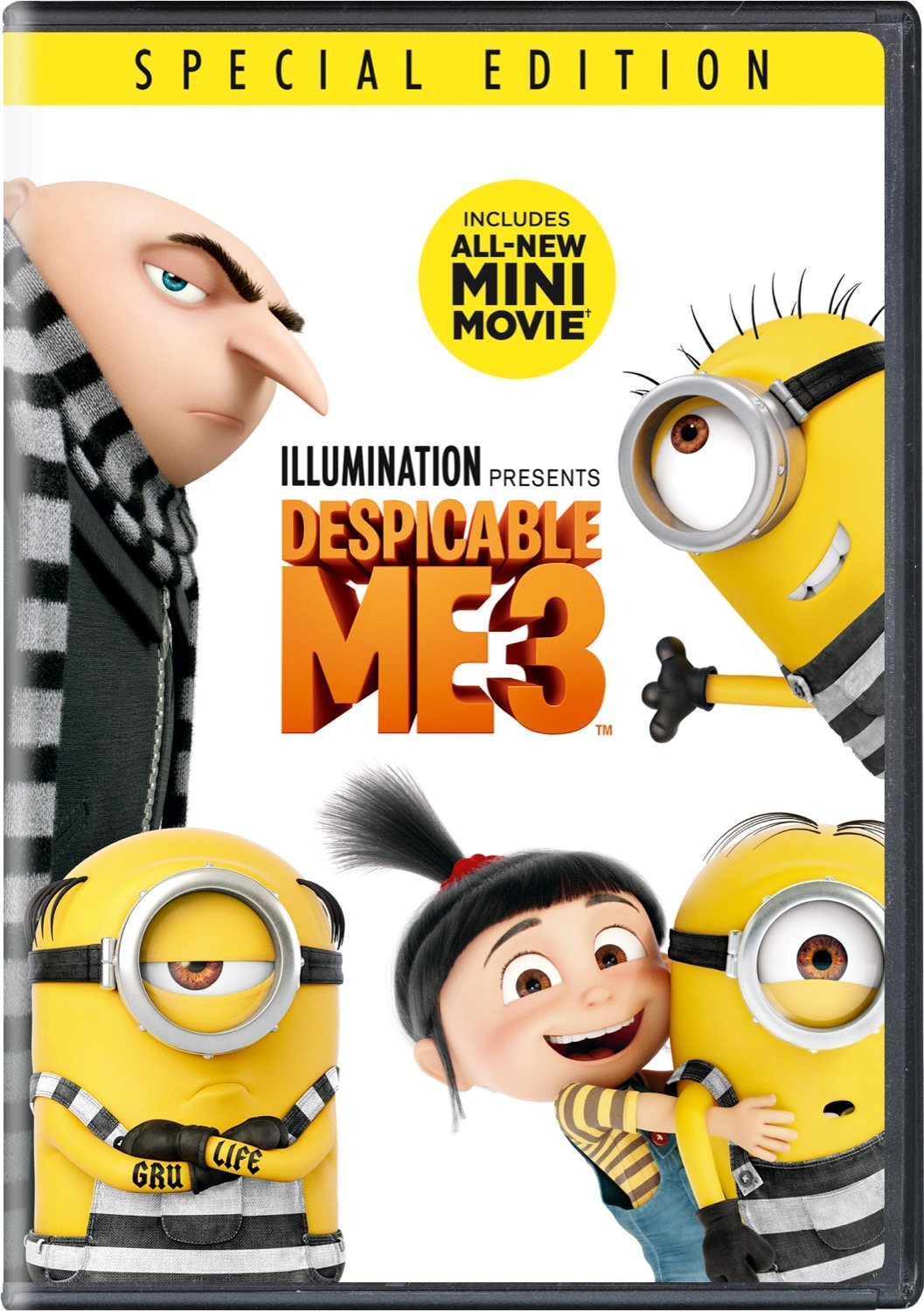 Book Cover: Despicable Me 3