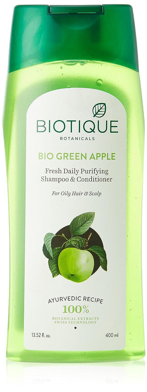 Biotique Green Apple Shampoo, 400ml