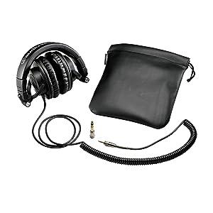 Audio Technica ATHM50 Studio Monitor Headphones