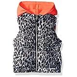 Pink Platinum Girls' Toddler Cheetah Vest, Black, 4T