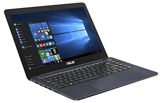 """Asus E402SA-WX013T PC Portable 14"""" Bleu (Intel Celeron, 2 Go de RAM, SSD 32 Go, Windows 10)"""